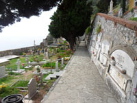 Portovenere, Cemetery - Located near the castle Doria<br>