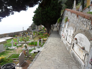 Portovenere, Cemetery - Located near the castle Doria<br>4320x3240, 1.84 MB