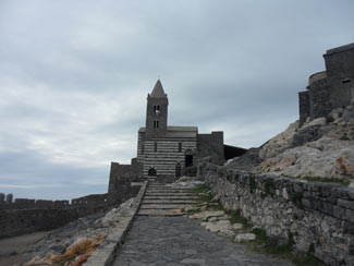 Portovenere - Church of San Pietro<br>4320x3240, 1.03 MB