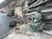 Portovenere, Mater Naturae - Tribute to the town of sculptor Scorzelli<br>