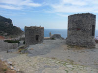 Portovenere, The Mills - Remains of ancient buildings<br>