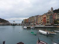 The Palazzata, The facades over the sea, Portovenere, Italy