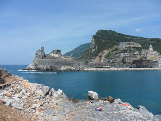 Palmaria Island - The landscape view of Portovenere<br>4320x3240, 1.62 MB