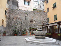 Portovenere - Paul Centinaro's Square in the center<br>