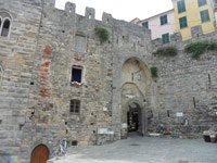 The city gate, town gate, Portovenere, Italy