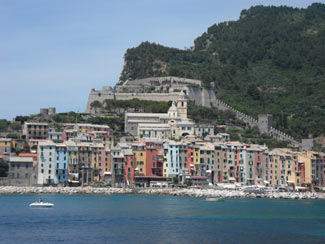 Portovenere - Panoramic view from the island of Palmaria<br>4320x3240, 1.69 MB