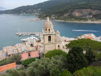Portovenere - Panoramic view from the Castle Doria<br>4320x3240, 1.90 MB