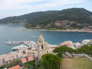 Portovenere - Panoramic view from the Castle Doria<br>4320x3240, 1.63 MB