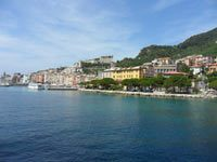 Portovenere - Arriving to the city from La Spezia<br>
