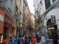 Portovenere, Cappellini St. - The main street of the city<br>