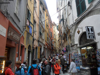 Portovenere, Cappellini St. - The main street of the city<br>4320x3240, 1.50 MB