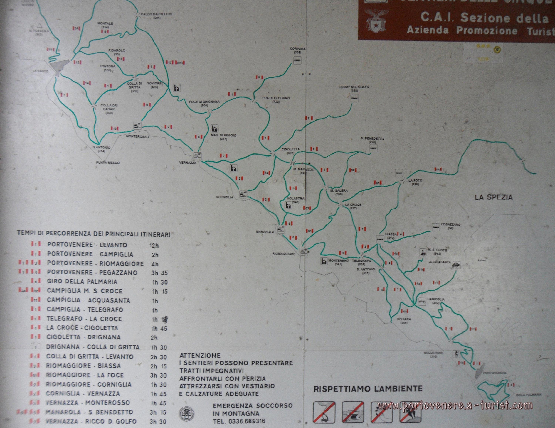 Portovenere hiking